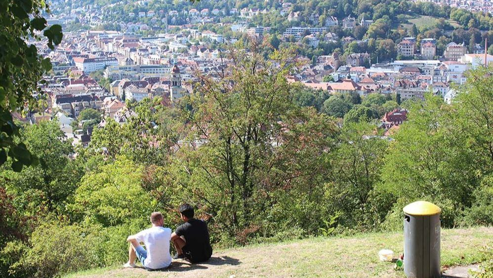 panoramic view of stuttgart