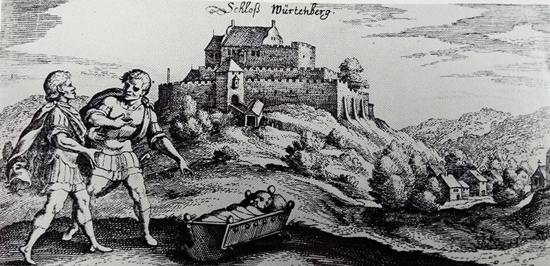 Old Castle of Wurttemberg
